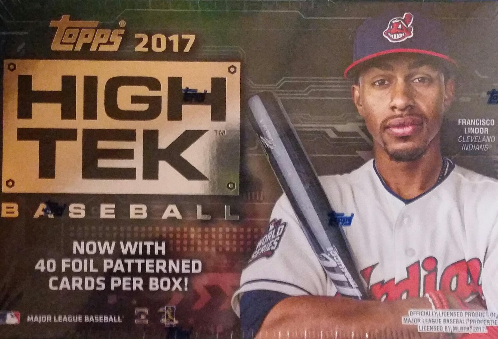 Sport card collectors review 2017 topps high tek bonus for 2 box auto con stanza bonus