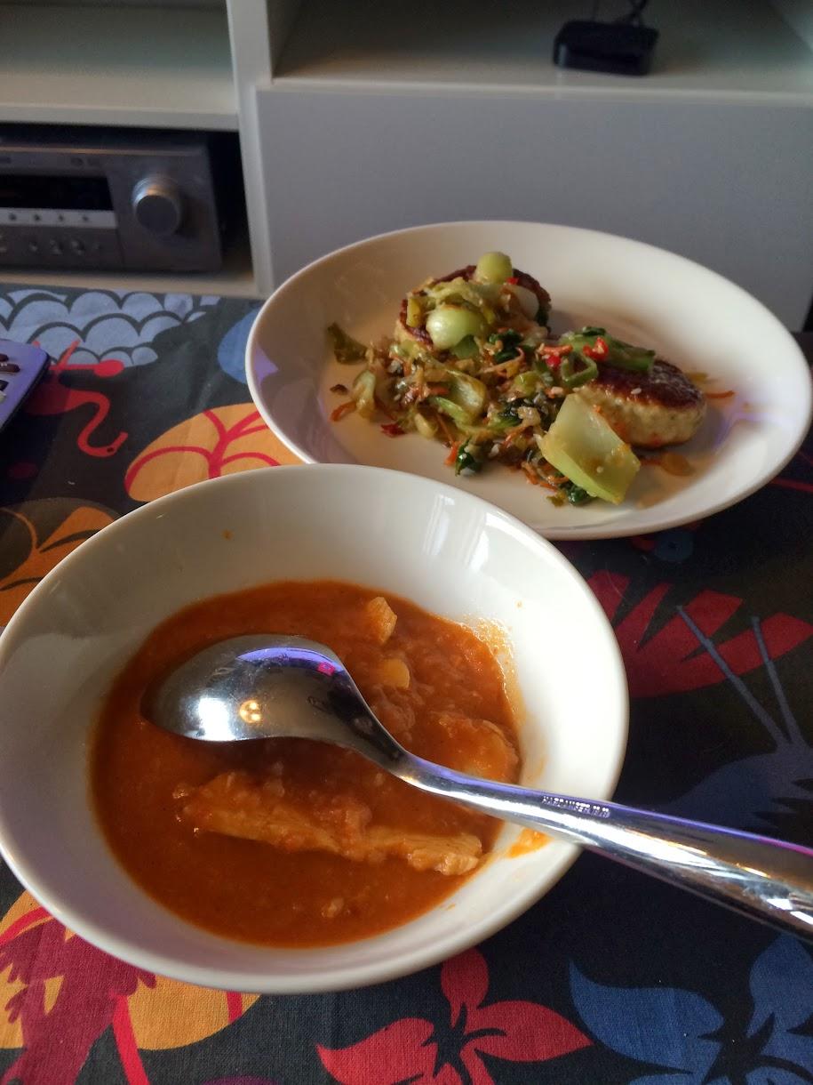 Bilde av lunsjen vår