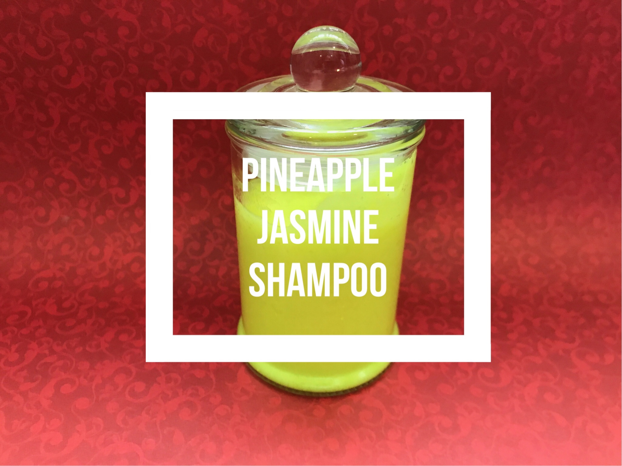 SoapLab Malaysia: How To Make: Pineapple Jasmine Shampoo