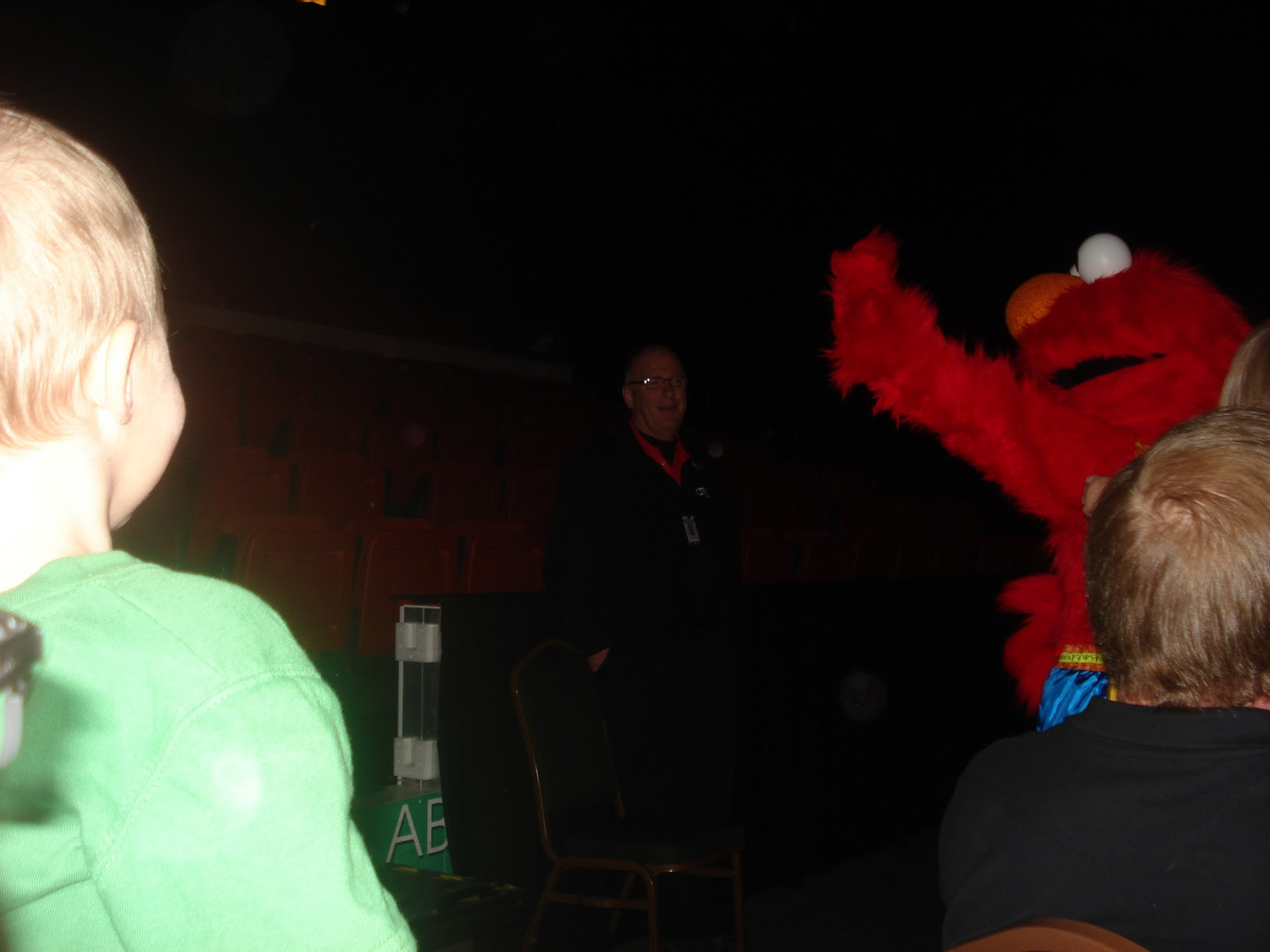 Roxys reign ends sesame street live telly monster super grover and even elmo himself i didnt have my camera ready for all of them but was able to capture a few of the meet and greets m4hsunfo