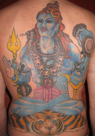 Hindu God and Goddess Tattoos - Religious Tattoo Designs