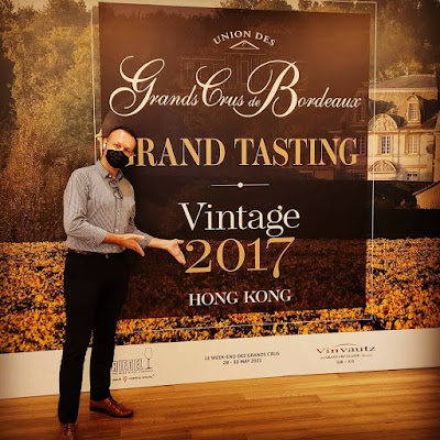 UGCB Hong Kong 2020 - Bordeaux Vintage 2017 -  Photo by and for ©LeDomduVin 2020