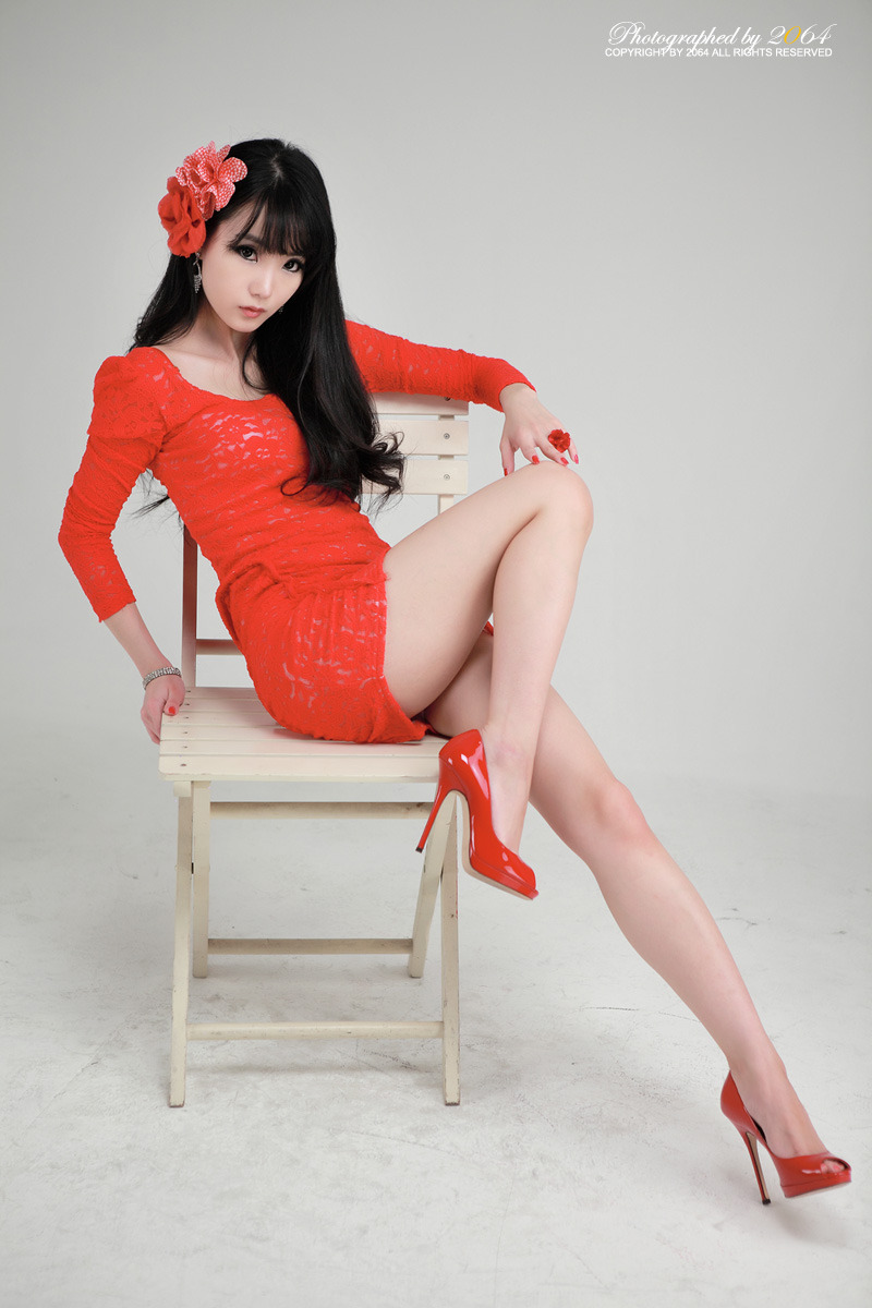 Beautiful Im Soo Yeon Photos in Red Dress ~ Hollywood ...