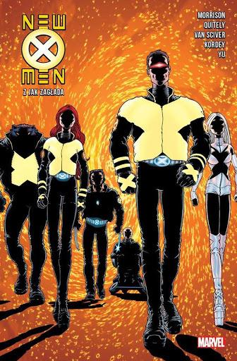 New X-Men tom 1 okładka