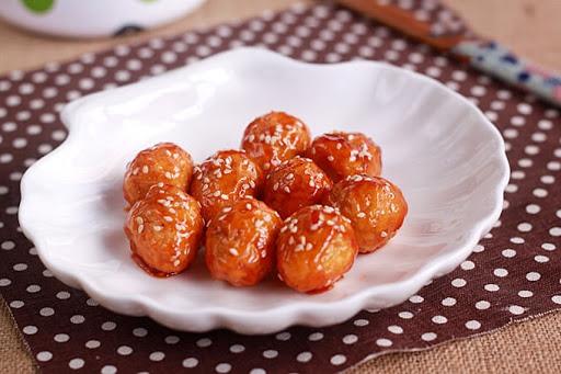 Trứng cút xốt chua ngọt