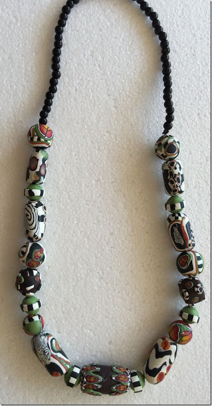 Necklace ourside
