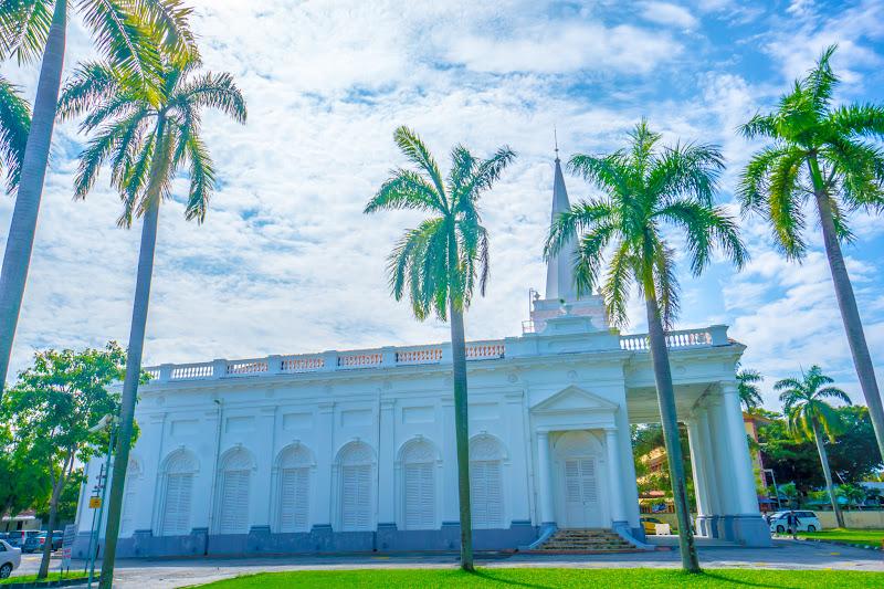 ペナン島 ジョージタウン セント・ジョージ教会