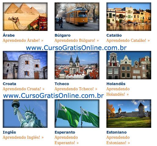 Idiomas Online e Gratis