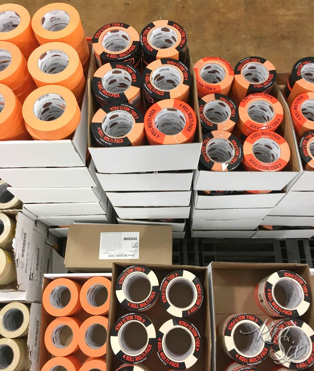 Dunn Edwards Painters Tape Orange