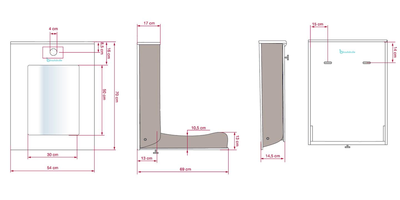 Dimension Table Langer Murale Table De Lit