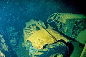 1941, the British freighter was sunk by a German bomber.
