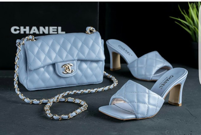 chanel bag and shoe. click for price.