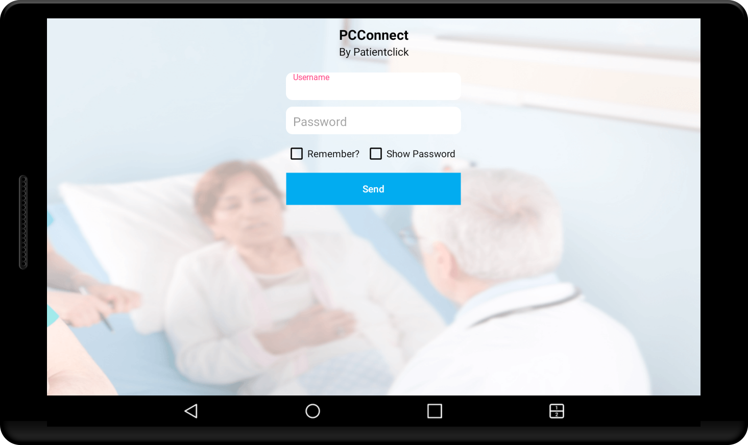 PatientConnect- screenshot