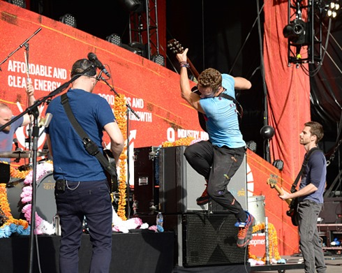Coldplay 2015 Global Citizen Festival-15