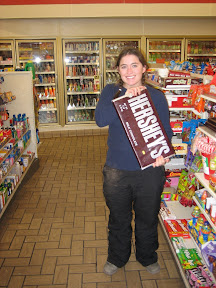 that's not just a big candy bar, that's also a short sister