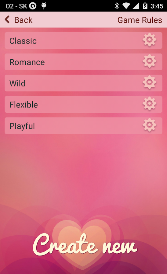 Couple foreplay sex card game- screenshot