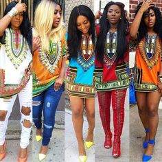 Dashiki LookBook For Women 2017