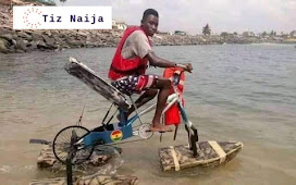 Ghanian Student Builds a Floating Bycycle for Students in Riverine Areas