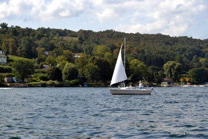 Sailboat on Lake Seneca