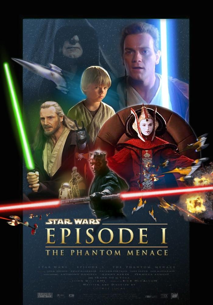 rnk fan art star wars  the complete saga poster series 2004
