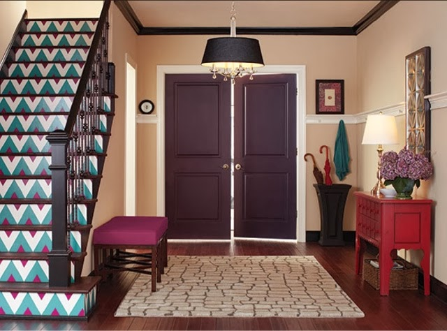Large Foyer Paint Colors : Style your space designing foyer or entryway