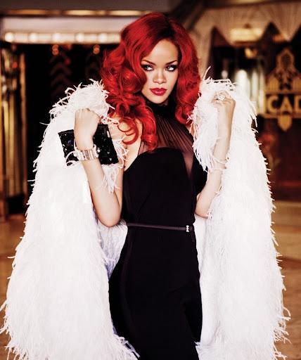 Rihanna Covers Glamour Magazine