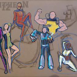 Concept art - Pantheon 12
