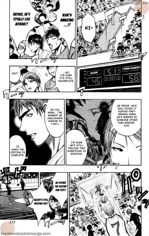 Kuroko no Basket Manga Chapter 69 - Image 5