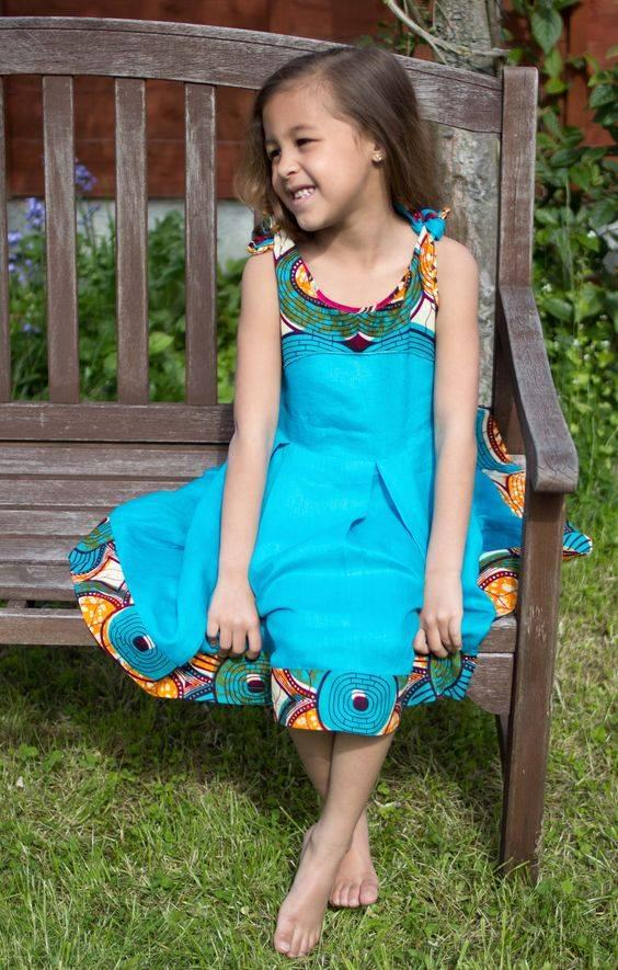 Trendy Kitenge Styles For Kids 2017 / 2018