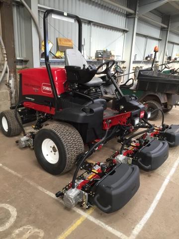 Gullane Greens Blog: 2016 machinery purchases