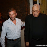 WWW.ENTSIMAGES.COM -  James Earl Jones  leaving     Much Ado About Nothing at Old Vic September 19th 2013                         Photo Mobis Photos/OIC 0203 174 1069