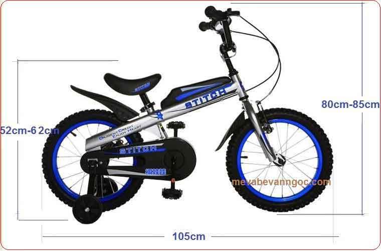 Xe đạp cho trẻ em Stitch 16 inch