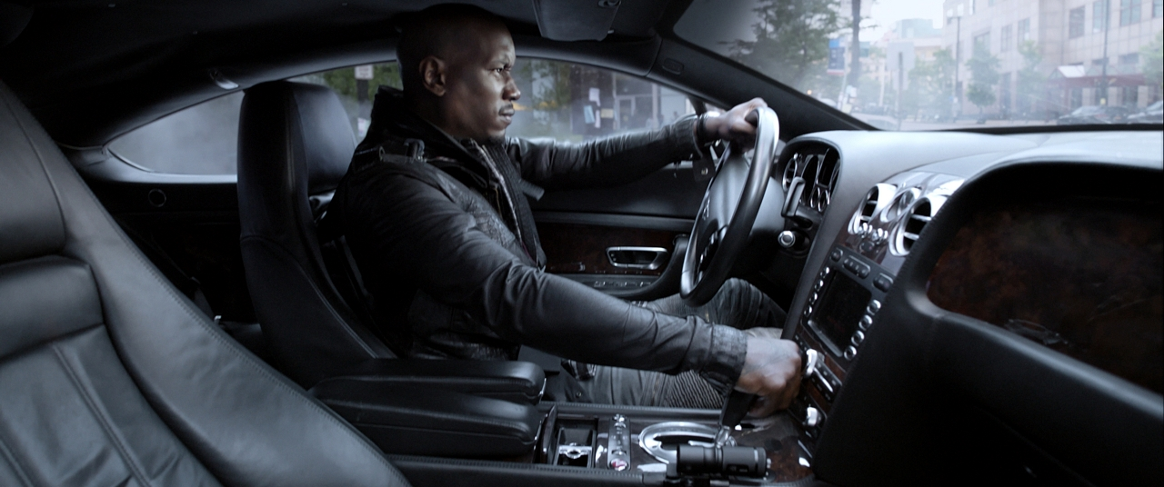 Tyrese Gibson in THE FATE OF THE FURIOUS. (Photo courtesy of Universal Pictures).