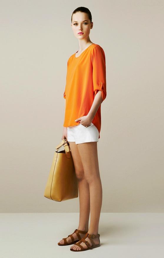 Zara Studio Silk Loose Blouse 81