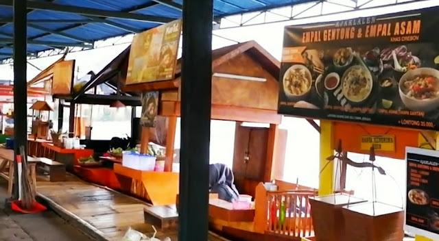 kuliner floating market bandung