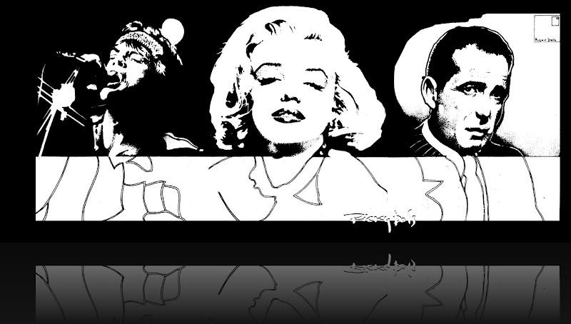 MickMarilyn&Bogart