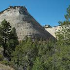 De Checkerboard Mesa in het Zion National Park