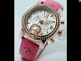 Jual jam tangan Aigner  variasi pink leather