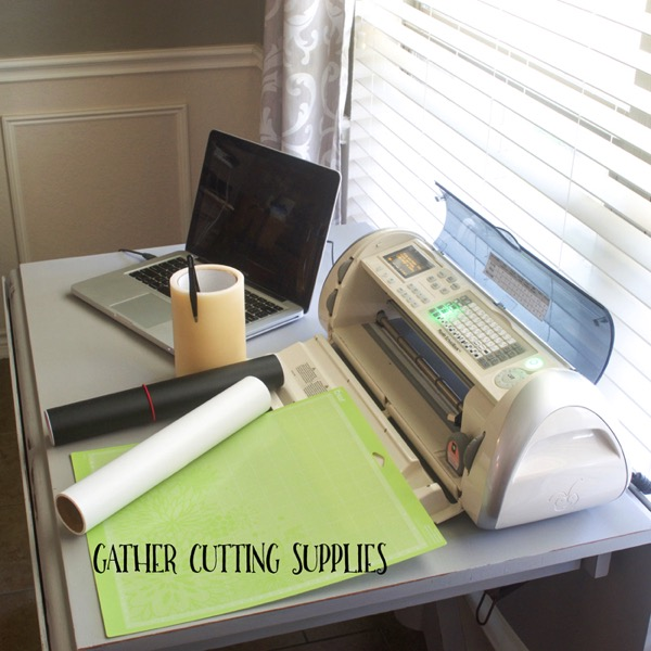 Cricut and supplies