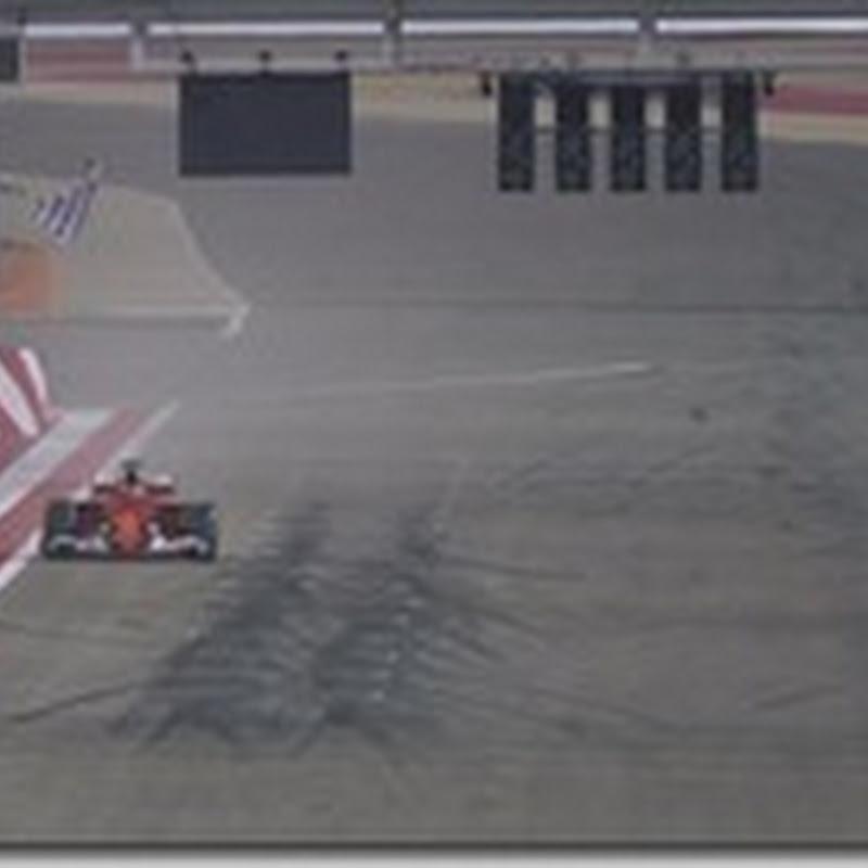 GP del Bahrain: Vince Vettel. Hamilton secondo