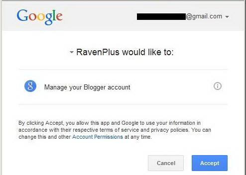 Granting Access to RavenPlus