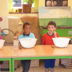 Brood bakken in de kinderboerderij K3E