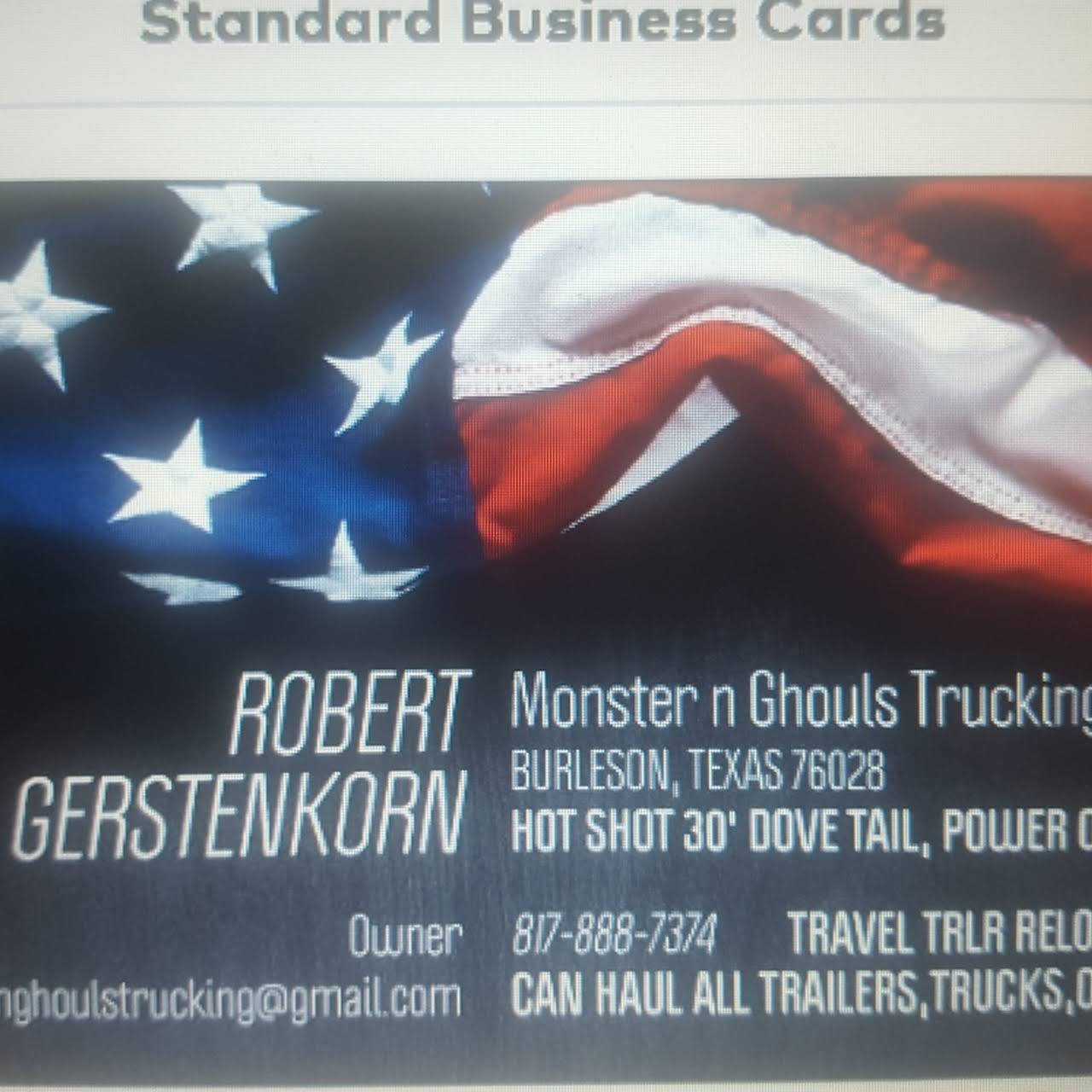 Hot Shot Business Cards