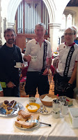 Church tea at Gaddesdon on Colin's Chiltern lanes ride