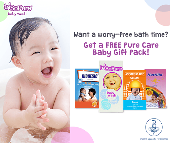 announcement, giveaway alert, product, products for children, products for babies, bath products for babies, Unilab