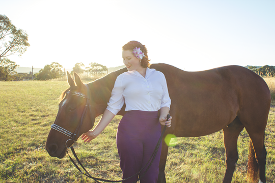 Stylized Equestrian Photography, January 2016 - A Riding Habit