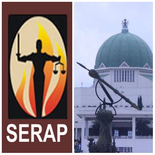 SERAP Sends Message To Senate, House Of Rep,       Requests For Reports On Public Hearings And Corruption Probes