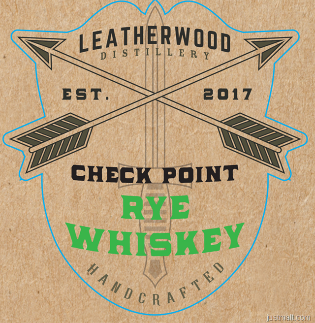 Leatherwood Distillery Check Point Rye Whiskey