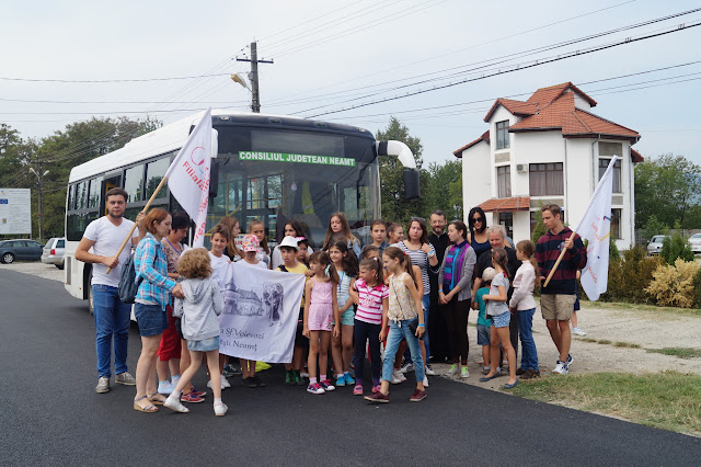 13 August - Excursie la Tg Neamț - Mrea Neamț - Cetatea Neamțului - Zimbrărie - Ion Creangă