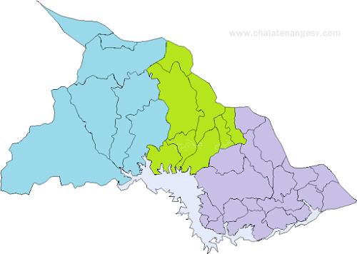 Distritos de Chalatenango